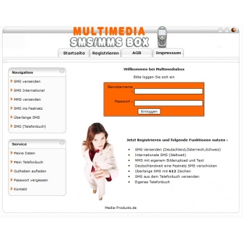 Multimedia SMS - MMS System Software Pro.
